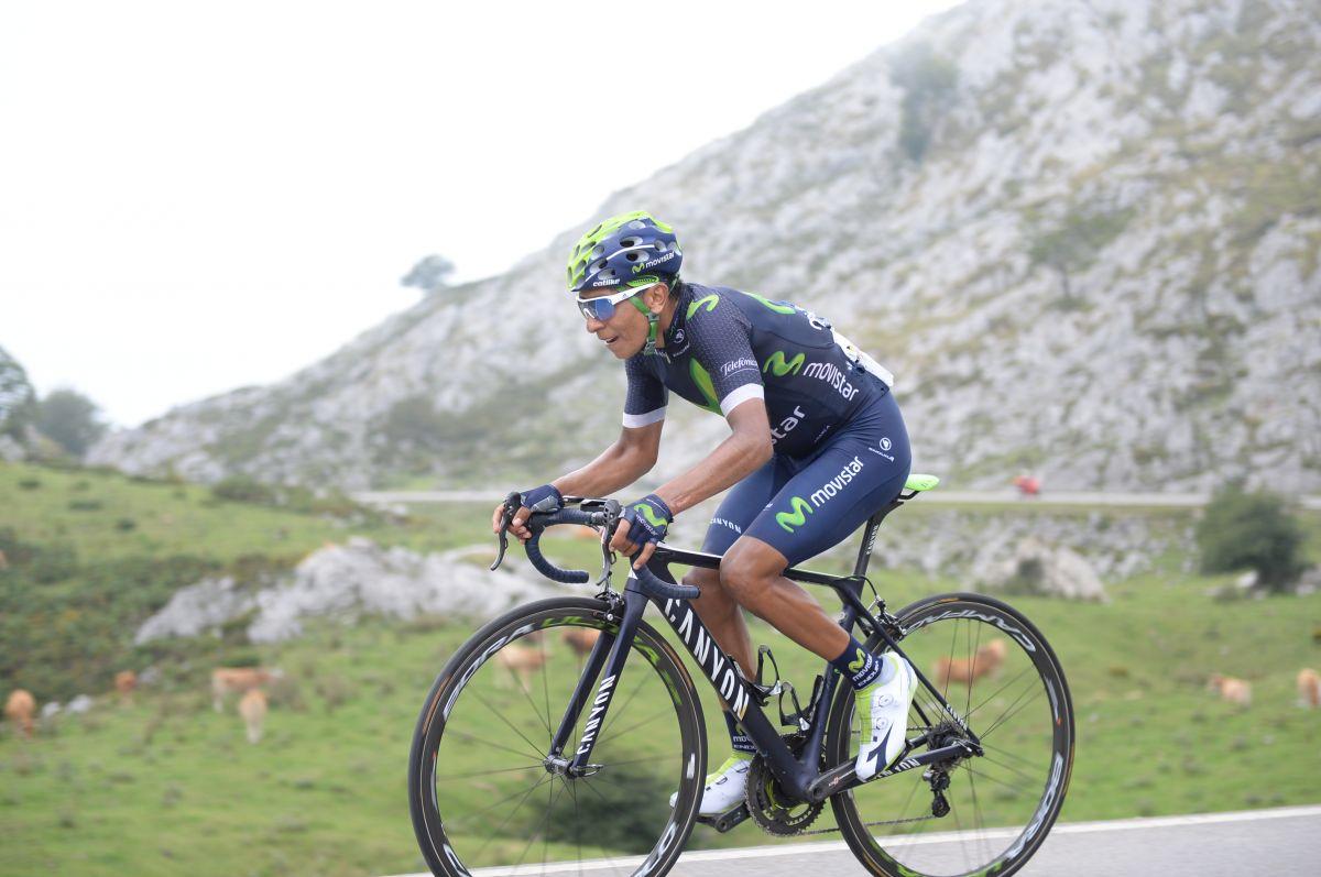 Quintana gagne aux Lacs de Covadonga