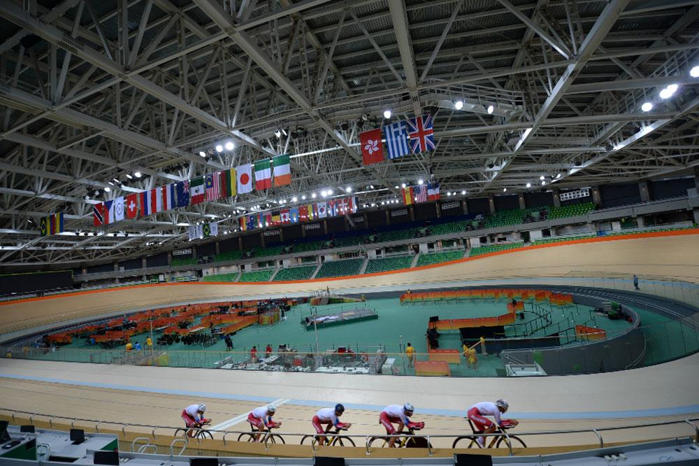 Au cœur du Vélodrome Olympique