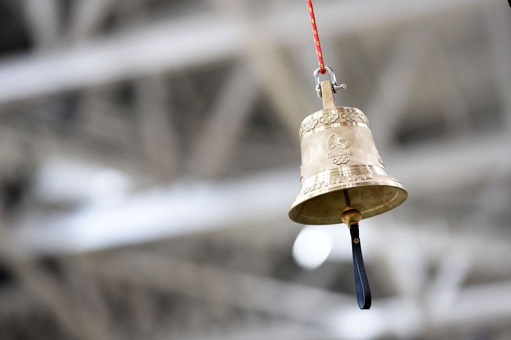 La cloche de la piste de Rio