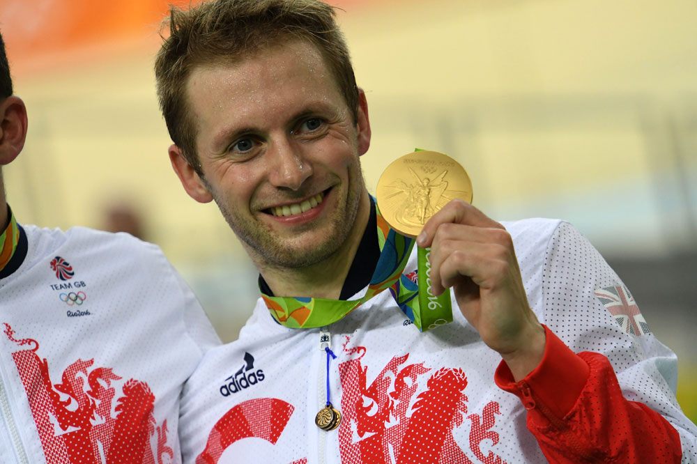 Cinquième médaille d'or pour Jason Kenny