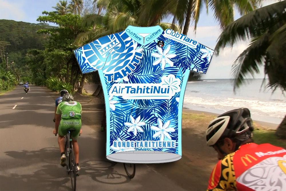 Le maillot collector de la Ronde Tahitienne 2017