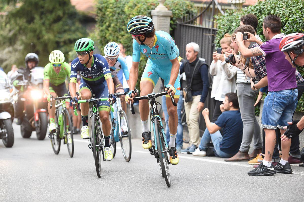 Rosa, Chaves, Bardet et Uran dans le final du Tour de Lombardie
