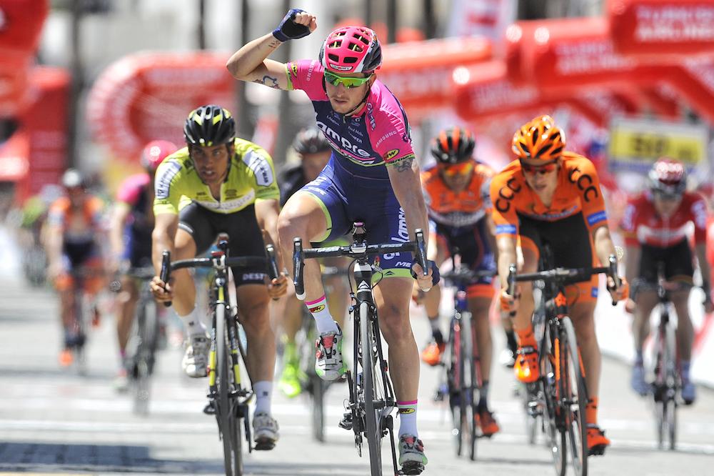 Sacha Modolo, vainqueur au sprint