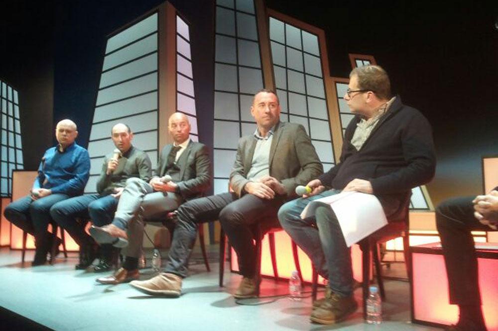 Emmanuel Hubert, Jérôme Pineau, Pascal Chanteur, Thierry Gouvenou et Patrick Chassé