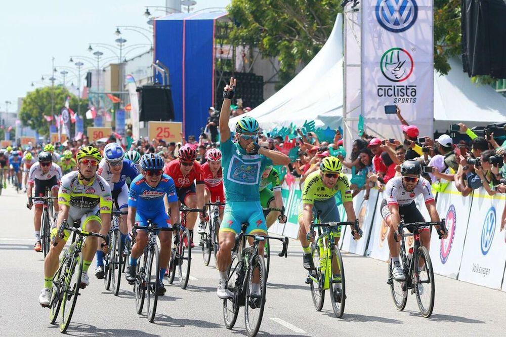 22ème victoire d'étape pour le Tour de Langkawi !