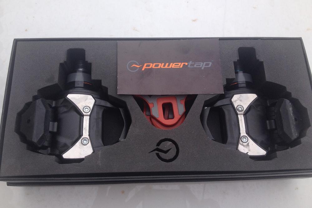 Les pédales Powertap P1