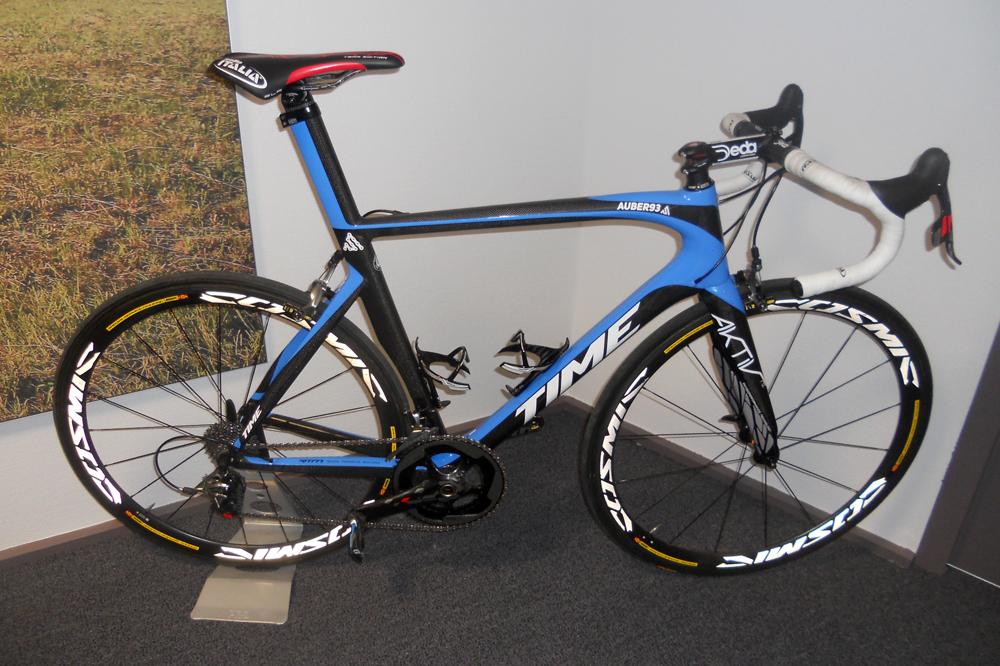 Le vélo Scylon avec la fourche Aktiv qui absorbe les vibrations