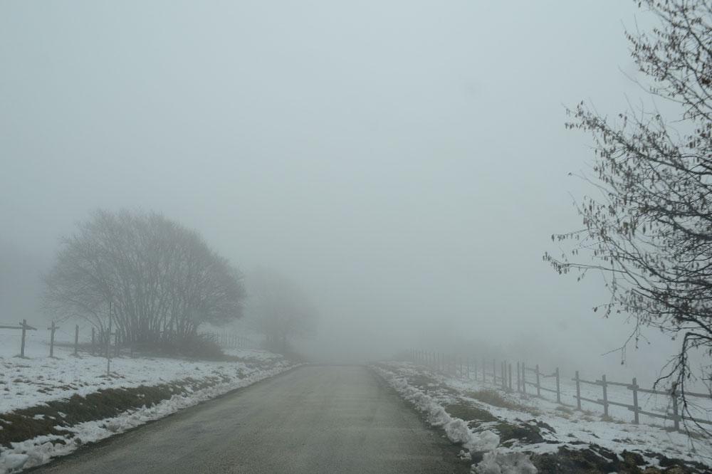 Le Monte San Vicino dans les neiges