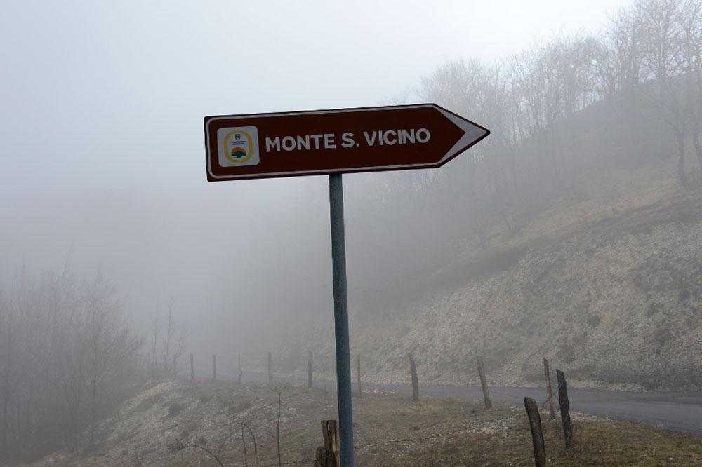 Le Monte San Vicino retiré de la course