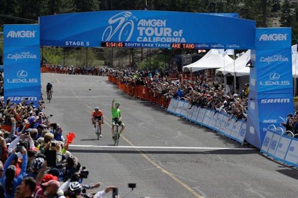 Toms Skujins récidive au Tour de Californie