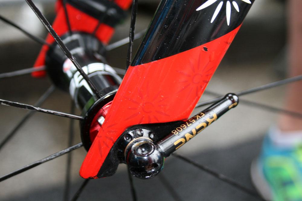 Le vélo de Daniel Navarro