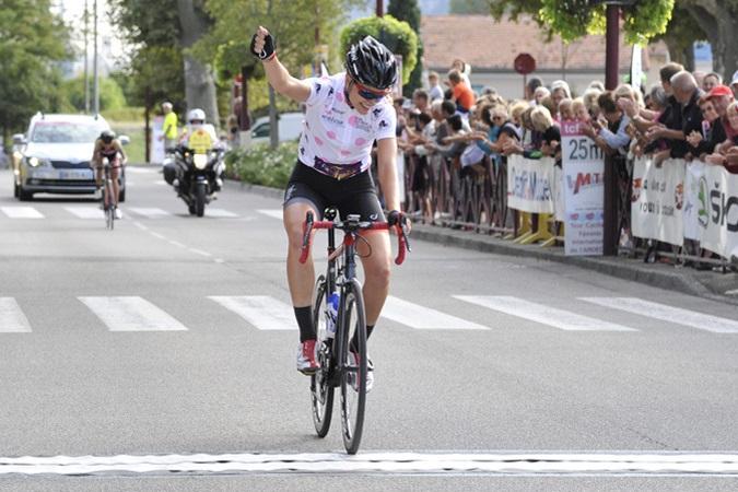Victoire sur le Tour de l'Ardèche 2015