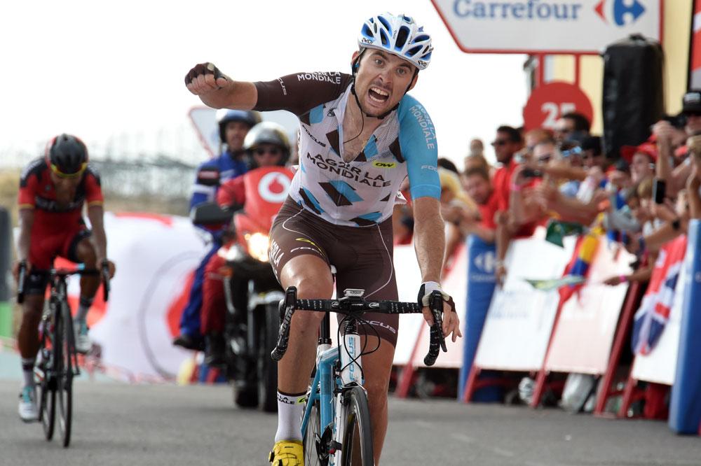 Pierre Latour vainqueur à l'Alto de Aitana