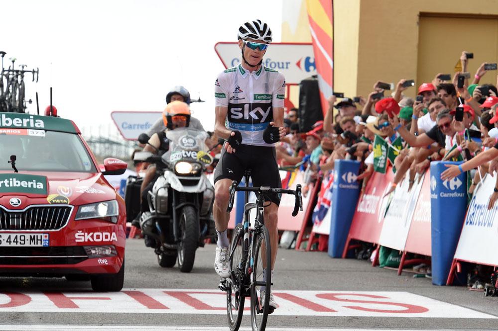 Bon prince, Chris Froome salue la victoire de Nairo Quintana