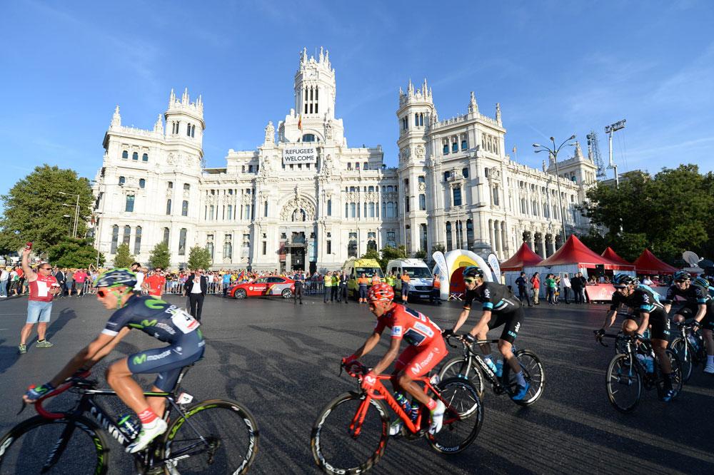 Nairo Quintana dans Madrid