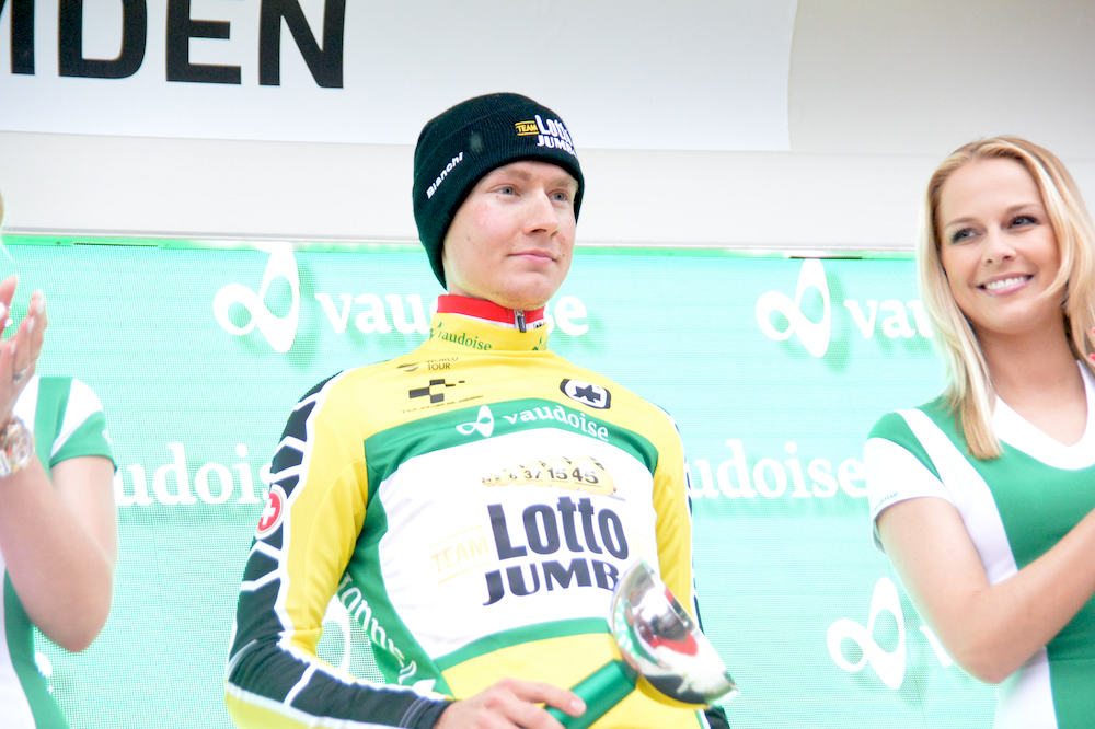 Wilco Kelderman s'empare du maillot jaune