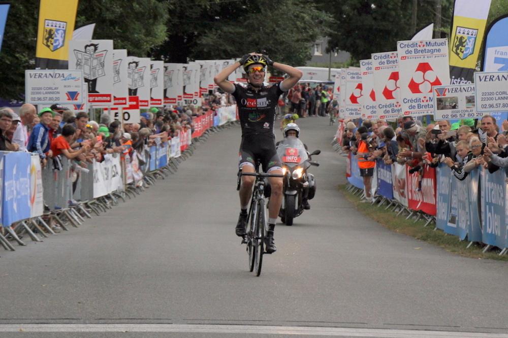 Yoann Paillot gagne la dernière étape du Kreiz Breizh Elites