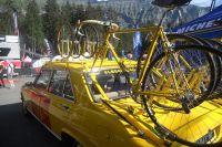 La voiture d'assistance Mavic des années 70