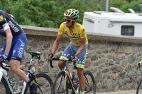Alberto Contador en difficulté à Vaujany