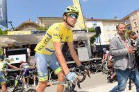 Alberto Contador en jaune