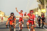 A l'arrivée de la 4ème étape, Alexander Kristoff fait parler sa puissance