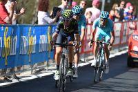 Alejandro Valverde perd 3 minutes dans la première étape dans les Dolomites