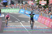 Première victoire d'étape sur le Giro pour Alejandro Valverde