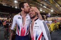 Bradley Wiggins et Mark Cavendish sacrés dans l'américaine