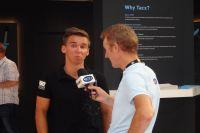 Bryan Coquard présent à l'Eurobike 2016