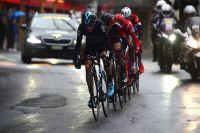 Chris Froome à l'attaque au Tour de Romandie