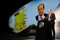 Le directeur du Tour de France Christian Prudhomme