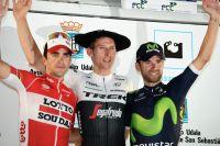 Tony Gallopin, Bauke Mollema et Alejandro Valverde à la Clasica San Sebastian