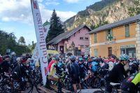Au départ de la Mercan'Tour-Café du Cycliste