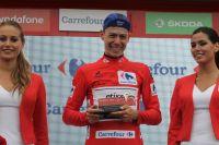 David De la Cruz maillot rouge de la Vuelta