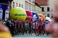 Le départ du Tour de Pologne