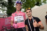 Dani Pedrosa rend visite au Tour d'Italie