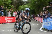 Domenico Pozzovivo retardé par une chute