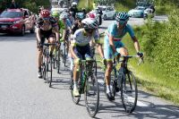 Esteban Chaves et Vincenzo Nibali en pleine discussion