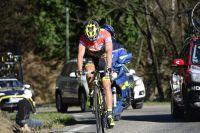 Bryan Coquard lâche dans la montée du col de Trélis