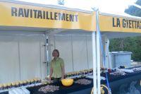 Ravitaillement à La Giettaz