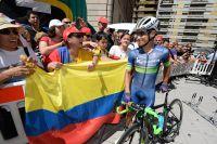 Esteban Chaves reçoit le soutien des supporters colombiens