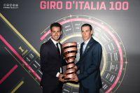 Le Sarde Fabio Aru et le Sicilien Vincenzo Nibali