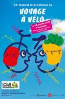 L'affiche du 32ème Festival international du voyage à vélo