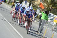 3ème du contre-la-montre par équipes de Tirreno-Adriatico, l'équipe FDJ étonne en Italie