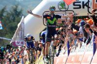 Alejandro Valverde vainc une fois encore Julian Alaphilippe à Huy