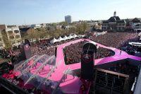 Cérémonie de présentation du Giro