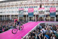 L'équipe Lampre-Merida au départ du Tour d'Italie