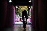 L'entrée des artistes du Giro