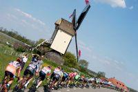 Le peloton rend visite aux Pays-Bas