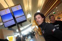 Fabian Cancellara prêt à embarquer